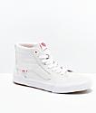Vans Sk8-Hi Cranmer Pro zapatos de skate blancos