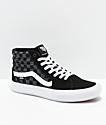 Vans Sk8-Hi Pro zapatos de skate negros y reflectantes