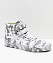 Vans Sk8-Hi Tumble Reissue V Snow Camo Skate Shoes
