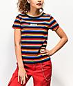 Vans Skimmer Multi-Stripe T-Shirt