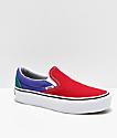 Vans Slip-On Colorblock Platform Shoes