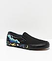 Vans Slip-On Desert zapatos de skate negros