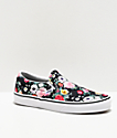 Vans Slip-On Garden Floral Skate Shoes