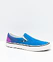 Vans Slip-On Pro Fade Turkish Tile & Dewberry Skate Shoes
