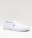 Vans Slip-On Pro White Skate Shoes