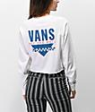 Vans Sound Checker camiseta blanca de manga larga