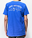 Vans x Anti-Hero On The Wire Blue T-Shirt