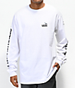Vans x Anti-Hero On The Wire White Long Sleeve T-Shirt