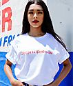 Viva La Bonita Allergic To Pendejadas camiseta blanca