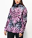 Volcom Bolt 10K chaqueta de snowboard de tie dye morada