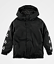 Volcom Boys Ripley Black 10K Snowboard Jacket