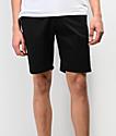 Volcom Frickin Drifter All Black Chino Shorts
