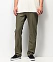 Volcom Solver Army Green Denim Jeans