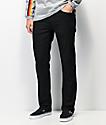 Volcom Solver Black Denim Jeans