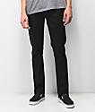 Volcom Vorta Black On Black jeans de mezclilla