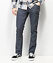 Volcom Vorta Slub jeans de mezclilla azul