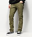Volcom Vorta Vineyard jeans verdes