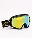 VonZipper Halldor Cleaver Black Gloss & Wildlife Gold gafas de snowboard cromadas