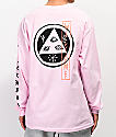 Welcome Beckon camiseta rosa de manga larga