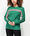 Zine Monroe camiseta verde de manga larga