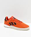 adidas 3ST.004 zapatos anaranjados y blancos
