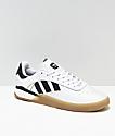 adidas 3ST.004 zapatos blancos y negros