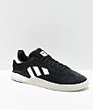 adidas 3ST.004 zapatos negros y blancos