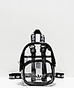 adidas Clear & Black Mini Backpack