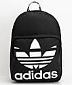 adidas Original Trefoil Pocket Black Backpack