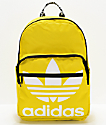 adidas Original Trefoil Pocket mochila amarilla