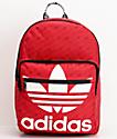 adidas Original Trefoil Pocket mochila escarlata