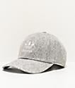 adidas Originals Relaxed gorra de lana gris claro