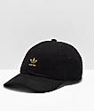 adidas Originals Relaxed gorra negra y dorada