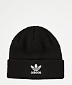 adidas Originals Trefoil Black & White Beanie
