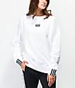 adidas R.Y.V. White Crew Neck Sweatshirt
