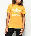 adidas Trefoil Real Gold T-Shirt