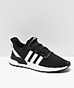 adidas U Path Run Black & Silver Shoes | Zumiez