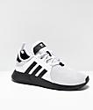 adidas Xplorer zapatos grises, blancos y negros