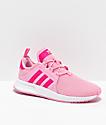 adidas Xplorer zapatos rosas y blancos