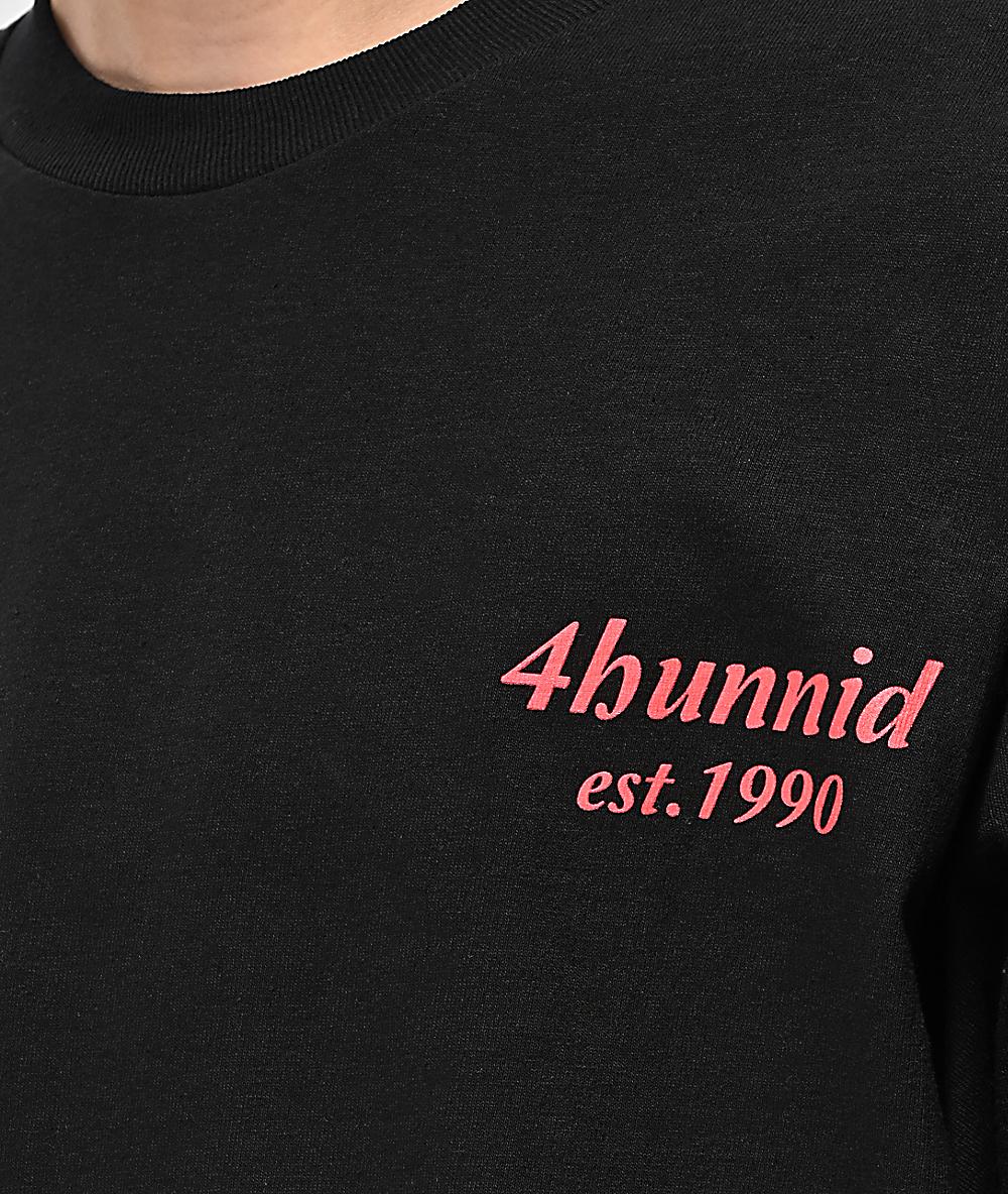2ba09cc18 4Hunnid EST 1990 Black T-Shirt | Zumiez