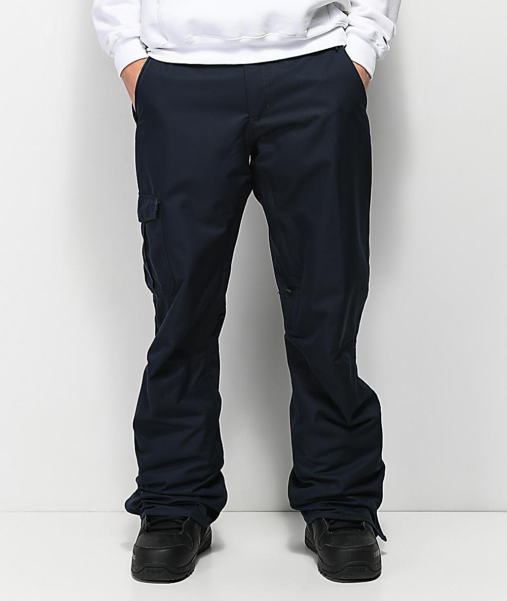 686 Supreme Navy Cargo 10K Snowboard Pants | Zumiez
