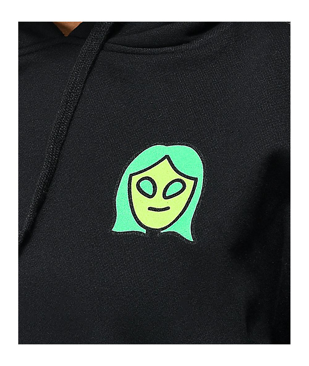 A-Lab Alien Dance Club Black Hoodie