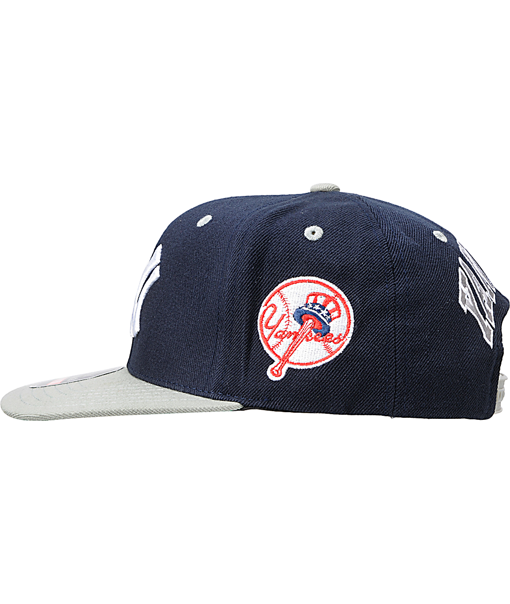 dc7933b68 American Needle Blockhead New York Yankees Snapback Hat | Zumiez
