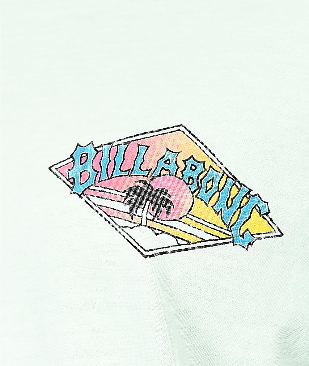 0e146576ea6 Billabong High Tide New Wave Mint Long Sleeve T-Shirt | Zumiez