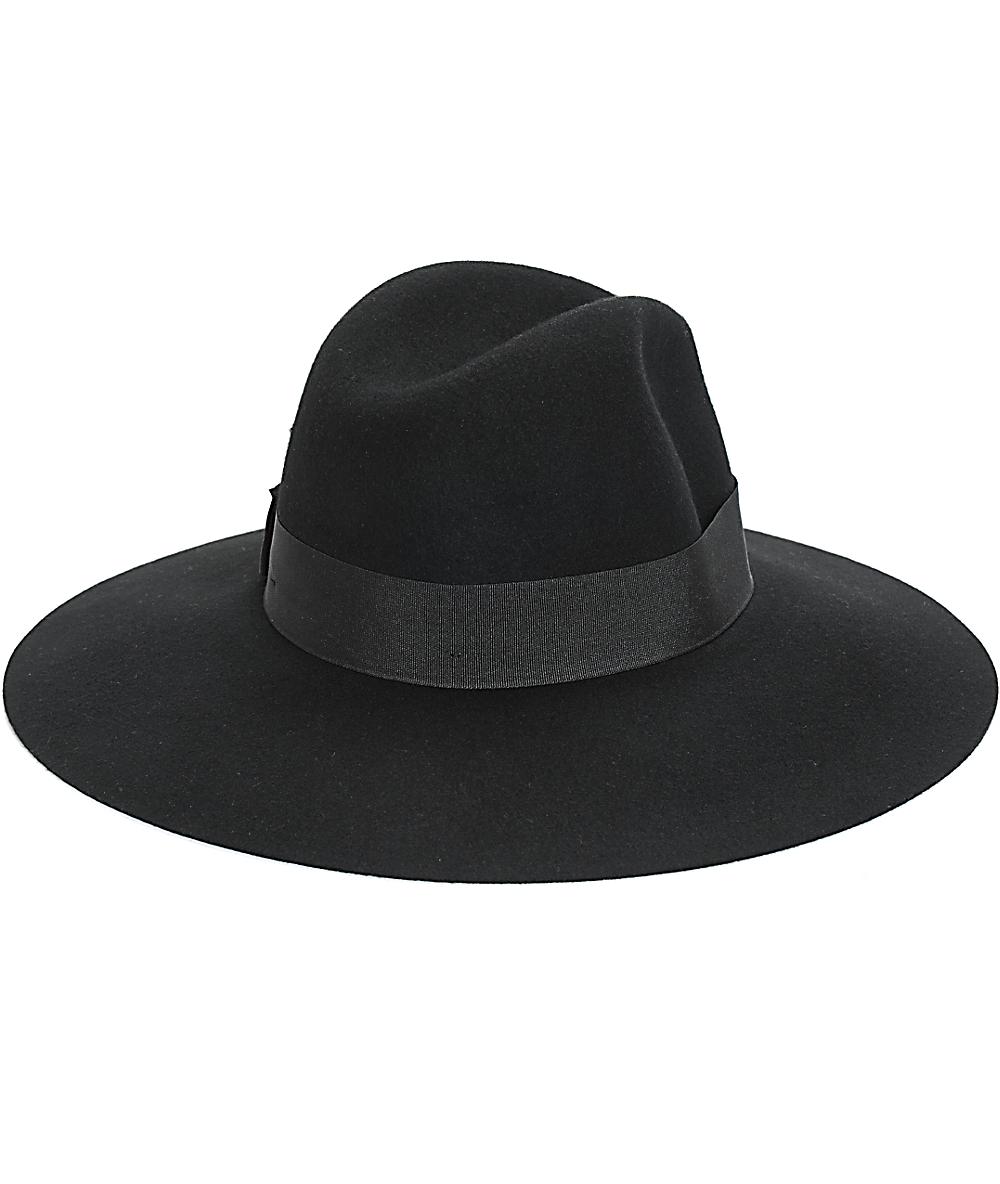 63e548dab9 Brixton Piper Black Floppy Brim Hat