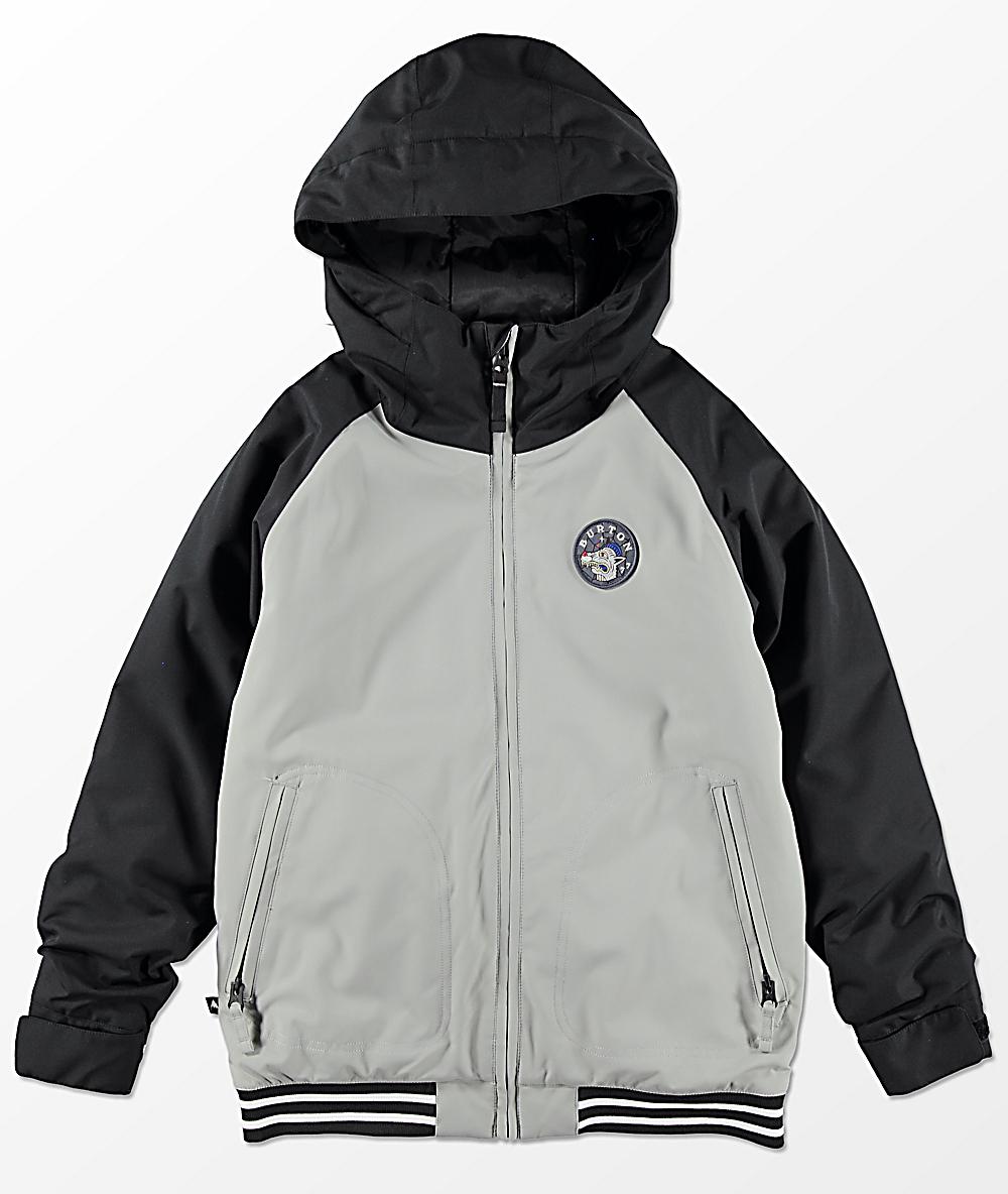 erityinen tarjous yksityiskohtainen ilme saapuvat Burton Boys Game Day Monument Black 10K Snowboard Jacket