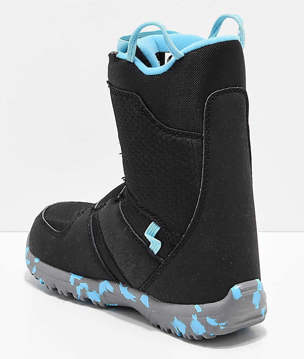 51493458b309 Burton Kids Grom Boa Black Snowboard Boots 2019 | Zumiez