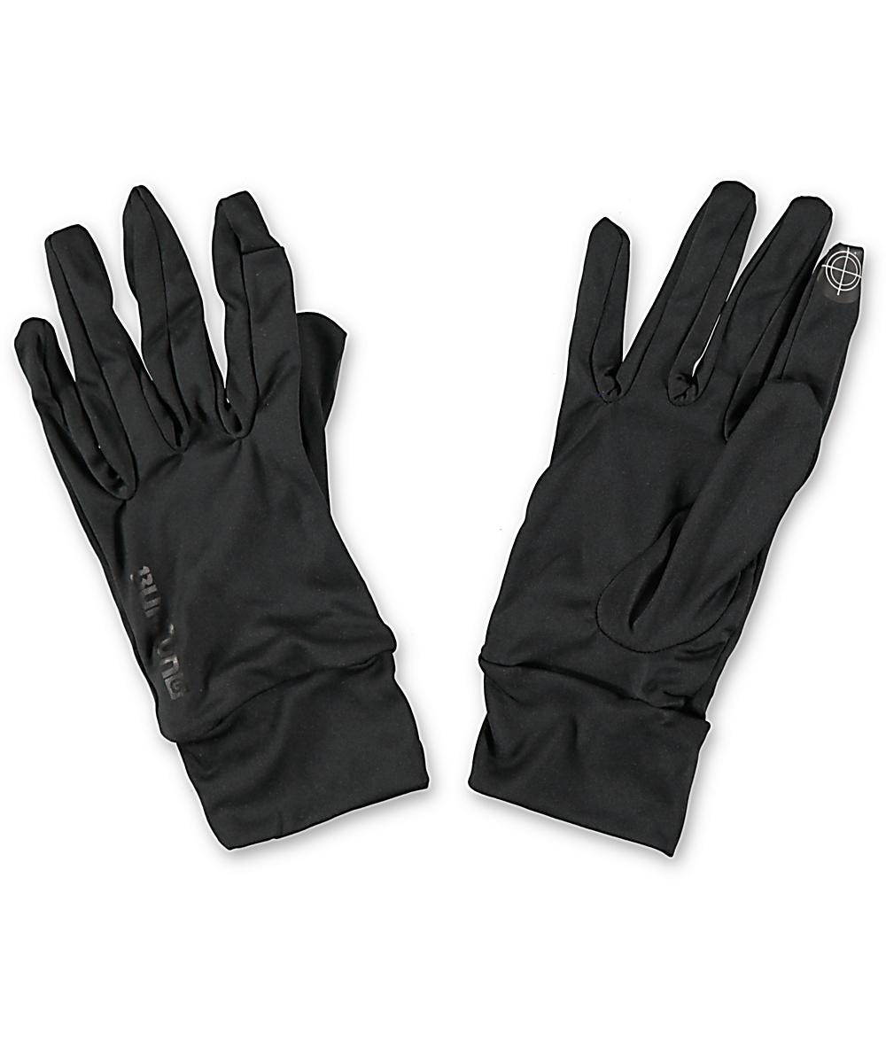 df12b20f4 Burton True Black Touchscreen Liner Glove | Zumiez