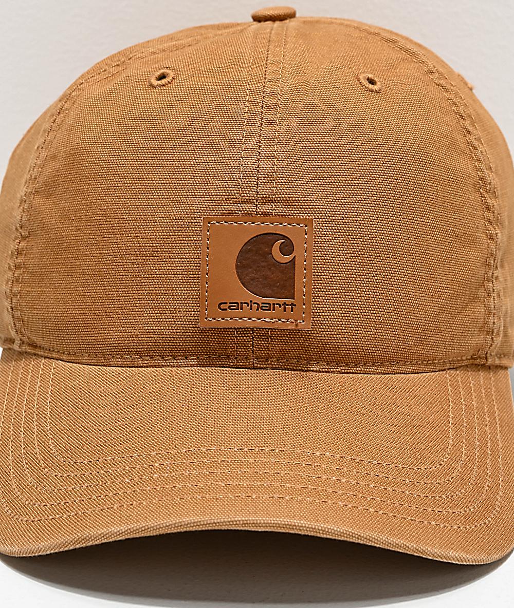 6ad380df8d Carhartt Odessa Brown Strapback Hat | Zumiez