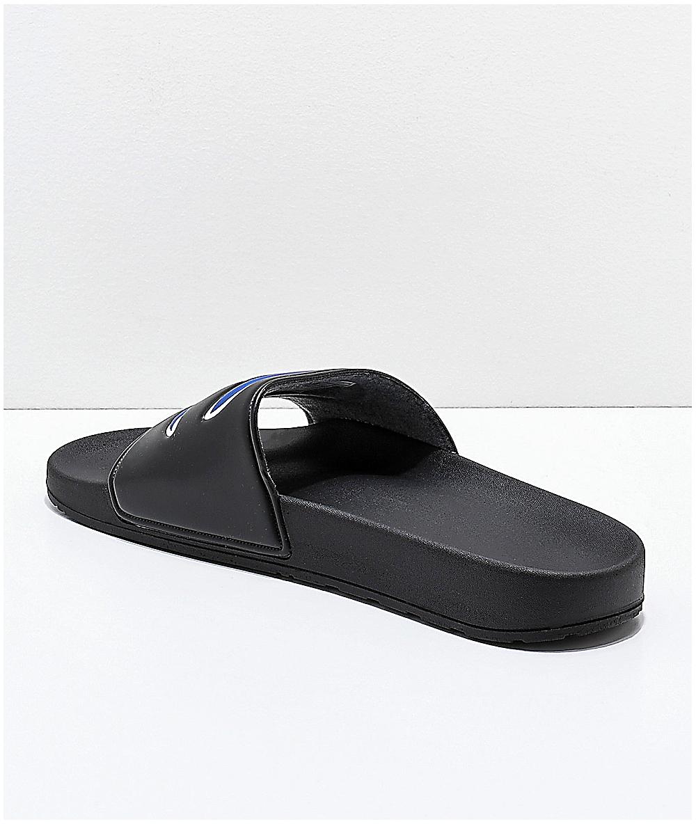 bd431e504 Champion IPO Black Slide Sandals | Zumiez